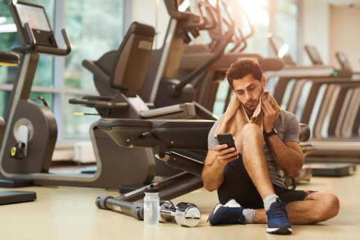 fitness center epoxy flooring boston