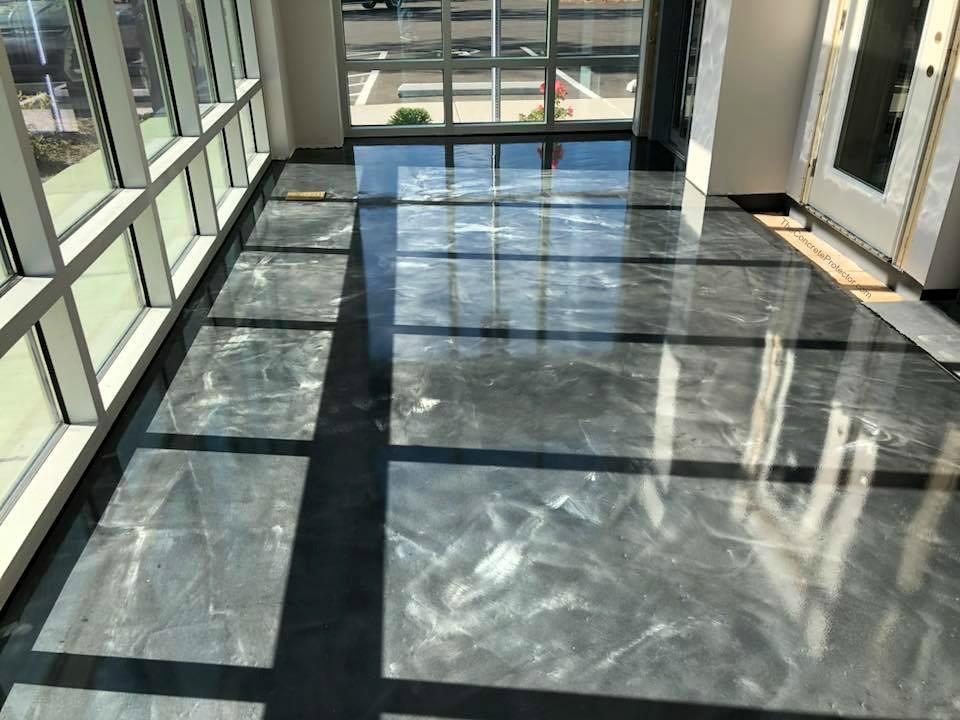 metallic epoxy floor boston