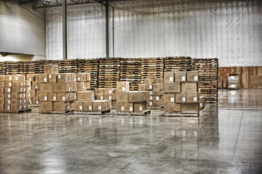 warehouse epoxy concrete floor boston