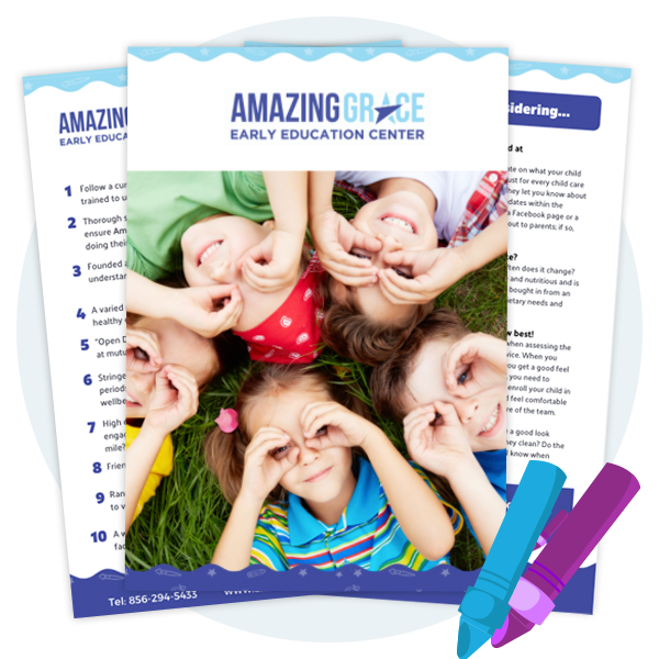 parent pack from Amazing Grace Early Education Centre