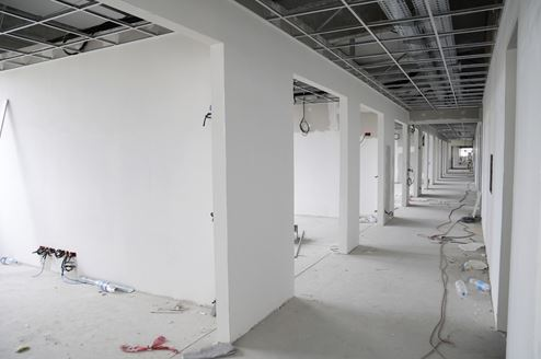 des moines commercial drywall installation