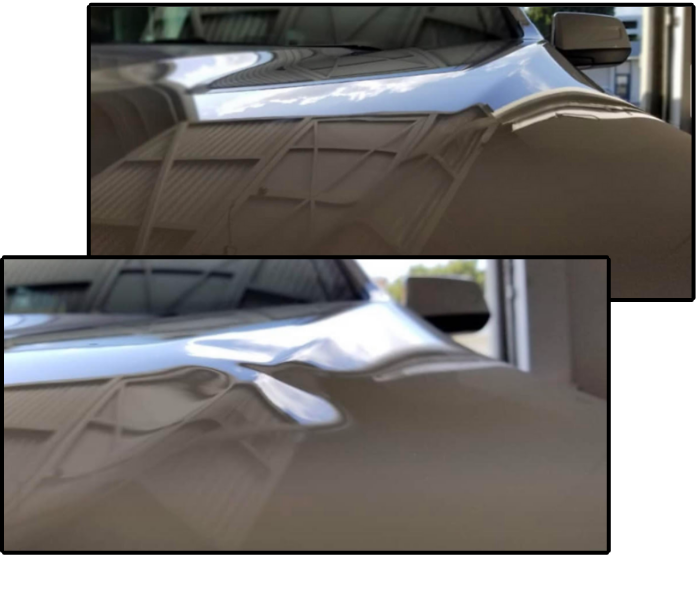 Mobile Dent Repair - before and after