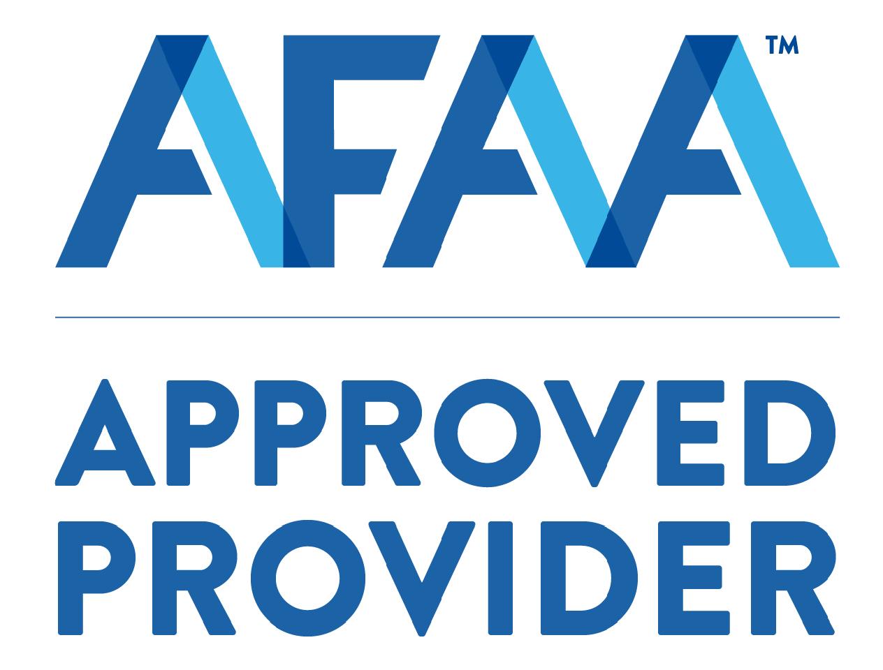 AFAA 15 CEU's for Certified Nutrition Specialist Logo