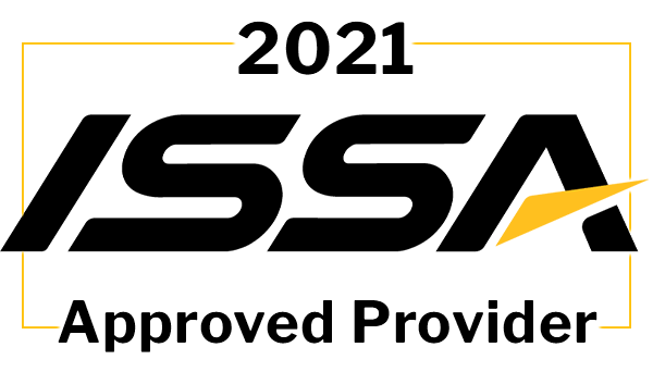 ISSA 20 CEU's for Certified Nutrition Specialist Logo