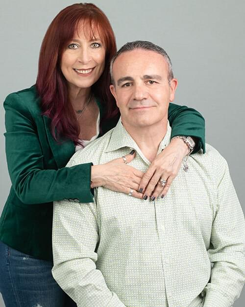 Lucho & Lisza Crisalle, Podcast Creators of the Stand Out Leaders in Health & Wellness Podcast