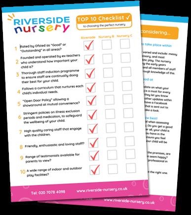 Top 10 Checklist From Riverside Nursery