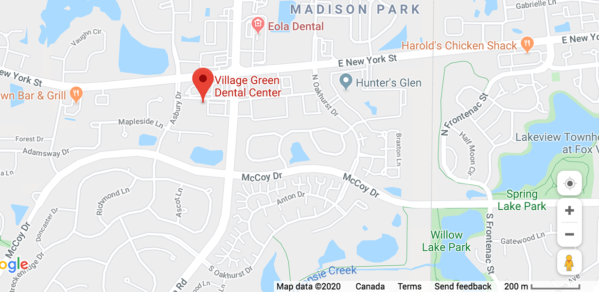 Village Green Dental Dental Implant Specialists - Office Location Map