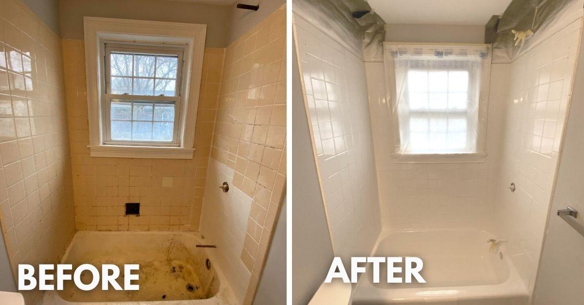 shower surround resurfacing Cambridge, MA