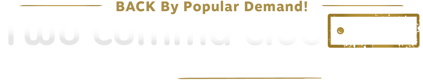 Two Comma Club LIVE Virtual Conference